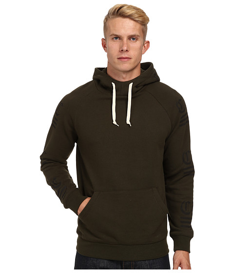 Crooks & Castles - Republic Knit Hooded Pullover (Rifle Green) Men
