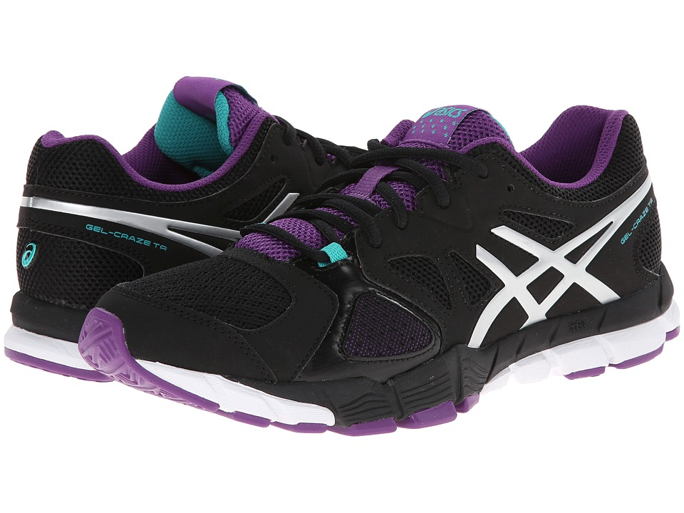 ASICS - GEL-Craze TR 2 (Black/Lightning/Plum) Women's Shoes