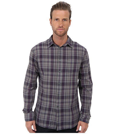 John Varvatos Star U.S.A. - Slim Fit Point Collar Shirt 50RO (Purple Haze) Men's Long Sleeve Button Up