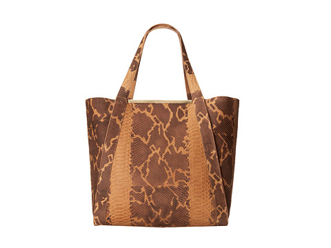Foley & Corinna - Barred Tote (Tawny Snake) Tote Handbags
