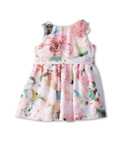 Pippa & Julie - Floral Belted Dress (Toddler/Little Kids) (Multi) Girl