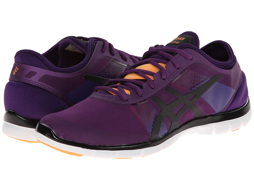 ASICS - GEL-Fit Nova (Purple/Onyx/Nectarine) Women