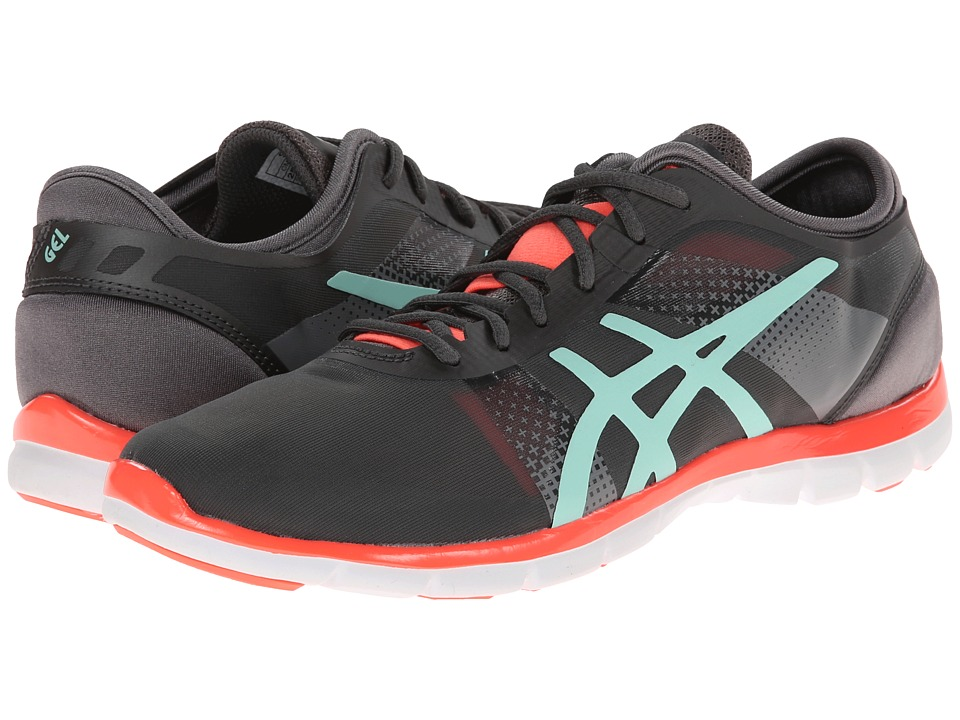 ASICS - GEL-Fit Nova (Granite/Mint/Electric Melon) Women's Cross Training Shoes