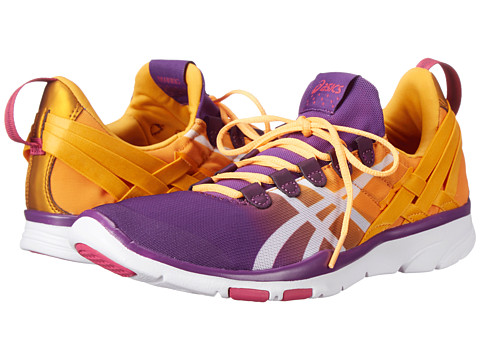 ASICS - GEL-Fit Sana (Purple Magic/White/Nectarine) Women's Cross Training Shoes