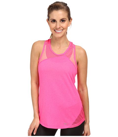 Nike - Relay Tank Top (Pink Pow/Pink Pow/Reflective Silver) Women