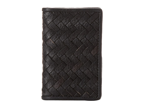 Cole Haan - Fold Over Card Case (Black) Wallet