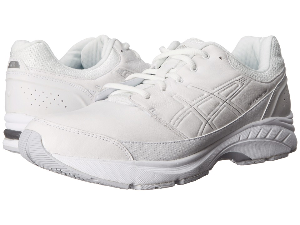 ASICS - GEL-Foundation Workplace (White/Silver) Men's Shoes