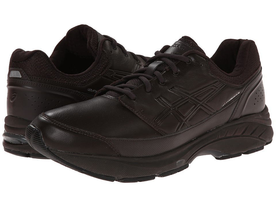 ASICS - GEL-Foundation Workplace (Dark Brown/Black) Men's Shoes