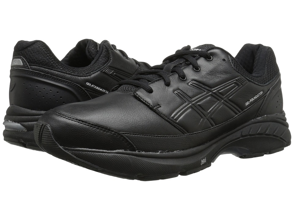 ASICS - GEL-Foundation Workplace (Black/Onyx/Silver) Men's Shoes