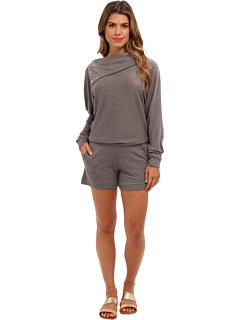 SALE! $49.99 - Save $98 on BCBGMAXAZRIA Hockley Knit French Terry Jumper (Grey Melange) Apparel - 66.22% OFF $148.00