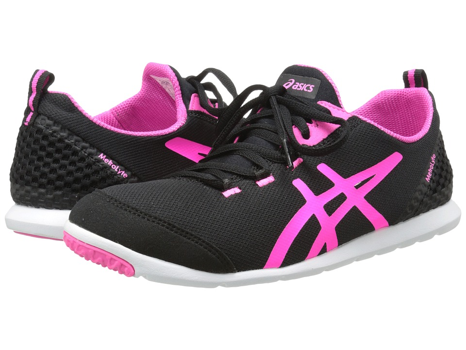 ASICS - Metrolyte (Black/Flash Pink/White) Women's Shoes