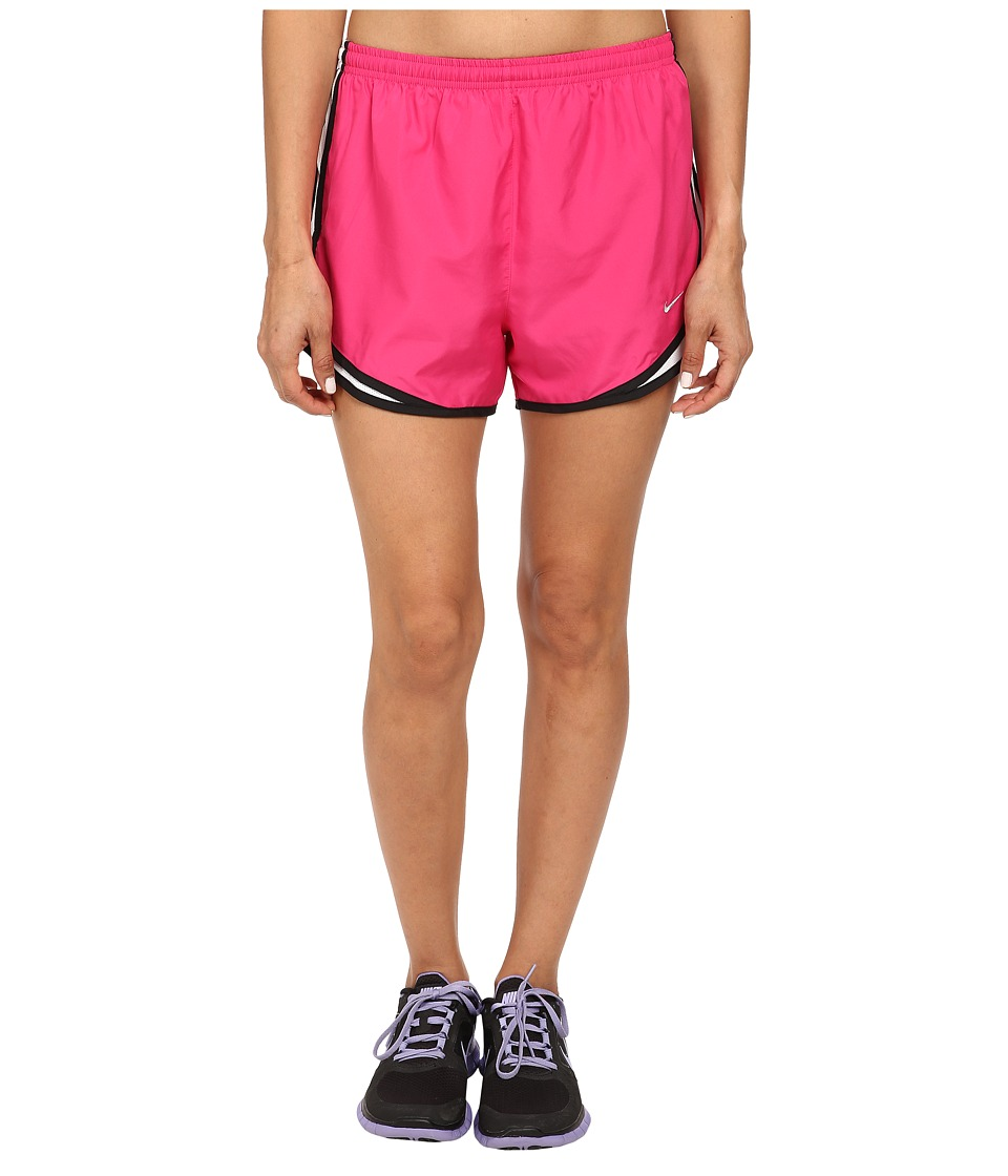 Nike - Tempo Short (Vivid Pink/White/Black/Matte Silver) Women's Workout