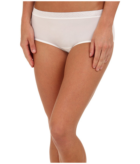 Jockey - Perfect Fit Hipster (White) Women's Underwear