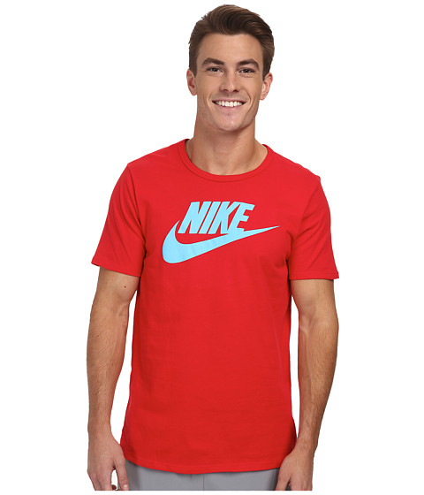 Nike - Futura Icon S/S Tee (University Red/Clearwater) Men's T Shirt