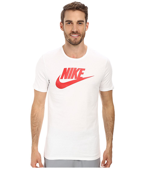 Nike - Futura Icon S/S Tee (White/University Red) Men