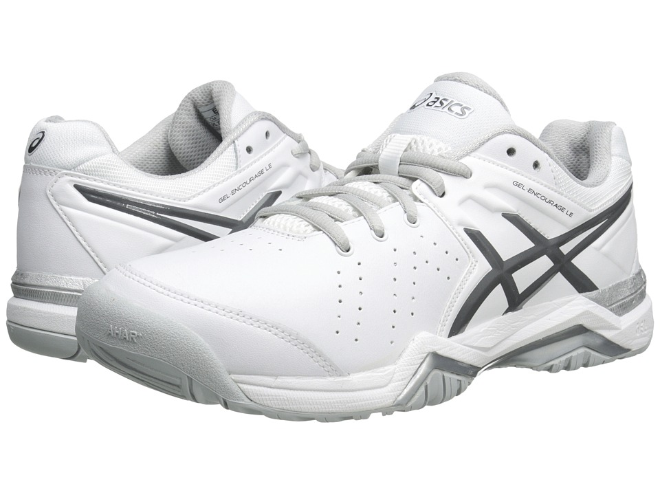 ASICS - GEL-Encourage LE (White/Silver) Women's Shoes