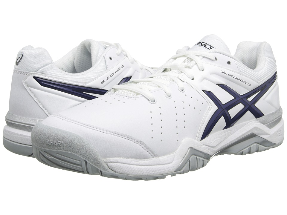 ASICS GEL-Encourage LE (White/Navy/Black) Men