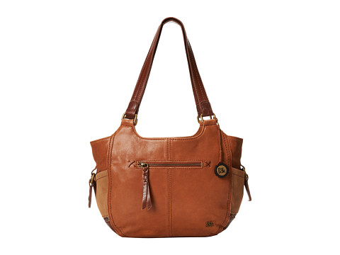 The Sak Kendra Satchel (Brown Glitter) Satchel Handbags