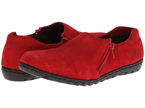 Lobo Solo - Monet (Red Leather) Women's Shoes