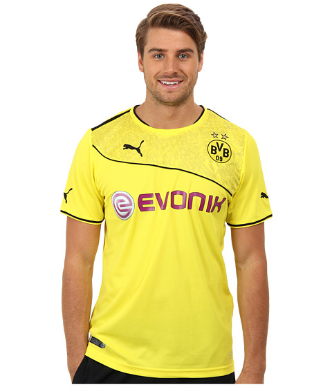 PUMA - BVB Special Edition Shirt Replica (Blazing Yellow) Men's Short Sleeve Pullover