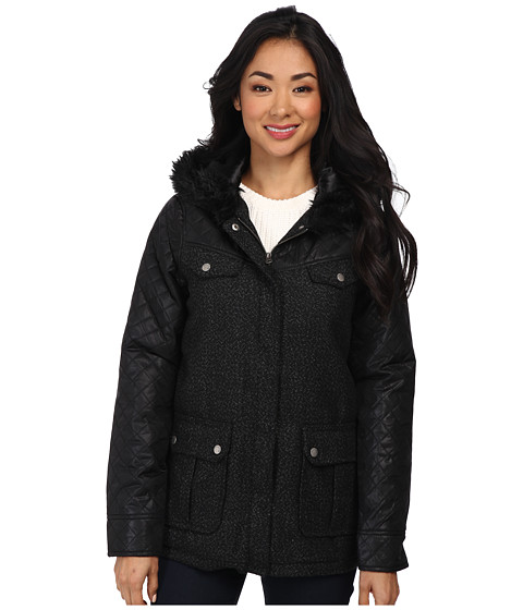 Volcom - Chill Spot Jacket (Black) Women's Coat