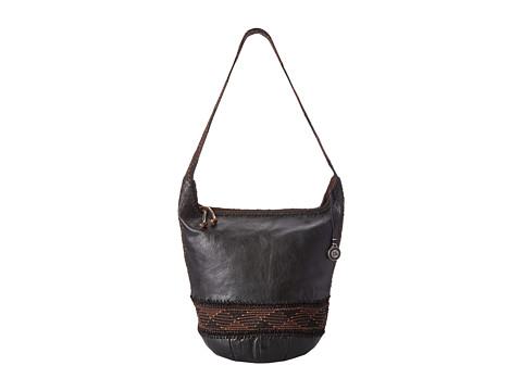 The Sak - Heritage Bucket (Black) Tote Handbags