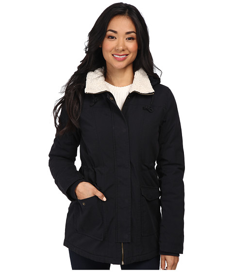 Volcom - Faded Parka (Black) Women's Coat