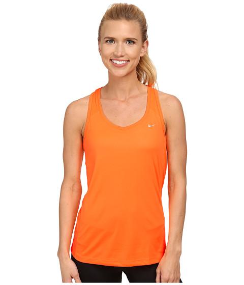 Nike - Miler Tank (Bright Citrus/Bright Citrus/Bright Citrus/Reflective Silver) Women