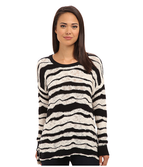Volcom - Long Way Home Sweater (Black) Women's Sweater
