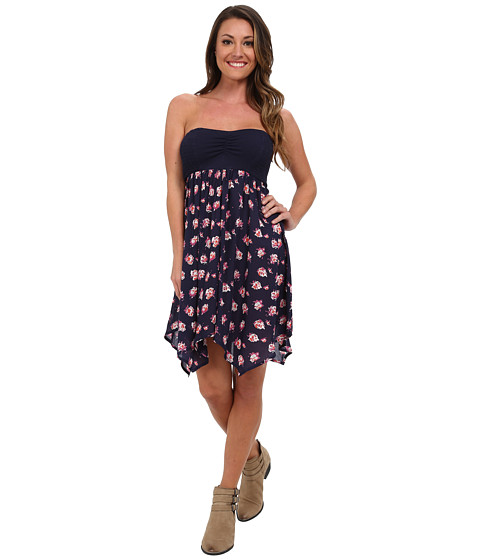 Volcom - Saturday Night Dress (Sea Navy) Women's Dress