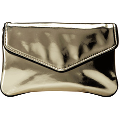 SALE! $24.99 - Save $55 on Deux Lux Foiled Clutch (Gold) Bags and Luggage - 68.76% OFF $80.00
