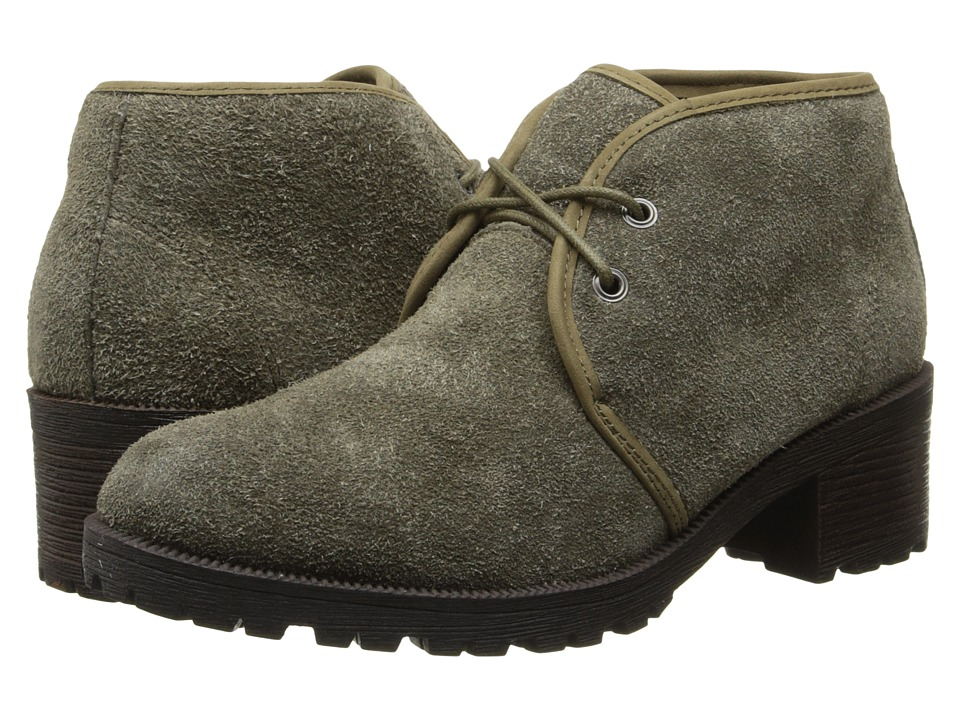 Eastland - Wellesley II (Olive) Women's Lace-up Boots