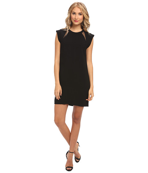 BCBGMAXAZRIA - Alycia Shift Dress (Black) Women's Dress