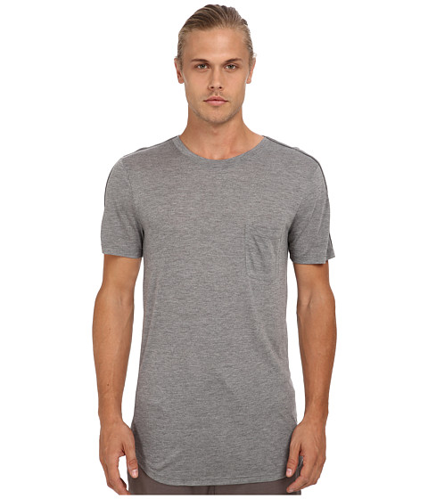 HELMUT LANG - Mercer Jersey New Short Sleeve Tee (Heather Grey) Men