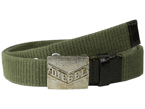 Diesel - Badenim Belt (Olive/Green) Men's Belts