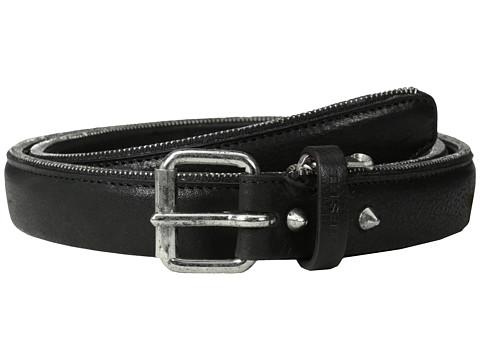Diesel - Bordizip Belt (Black) Men