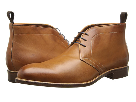Massimo Matteo - 3-Eye Chukka (Brandy) Men