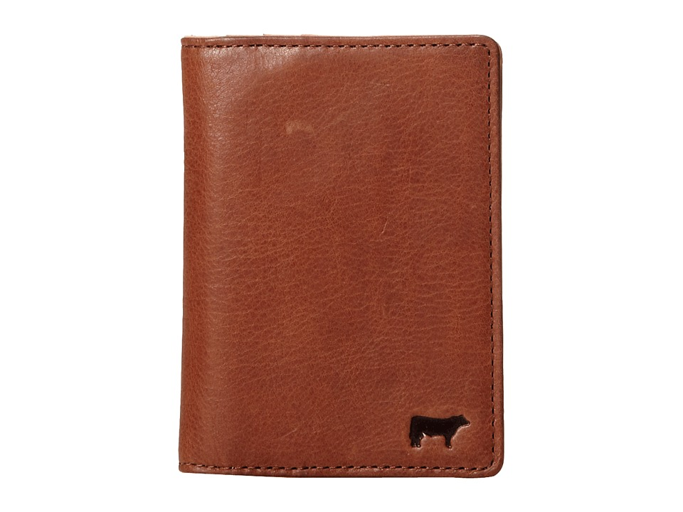 Will Leather Goods - Shelby Front Pocket with Money Clip (Cognac) Wallet