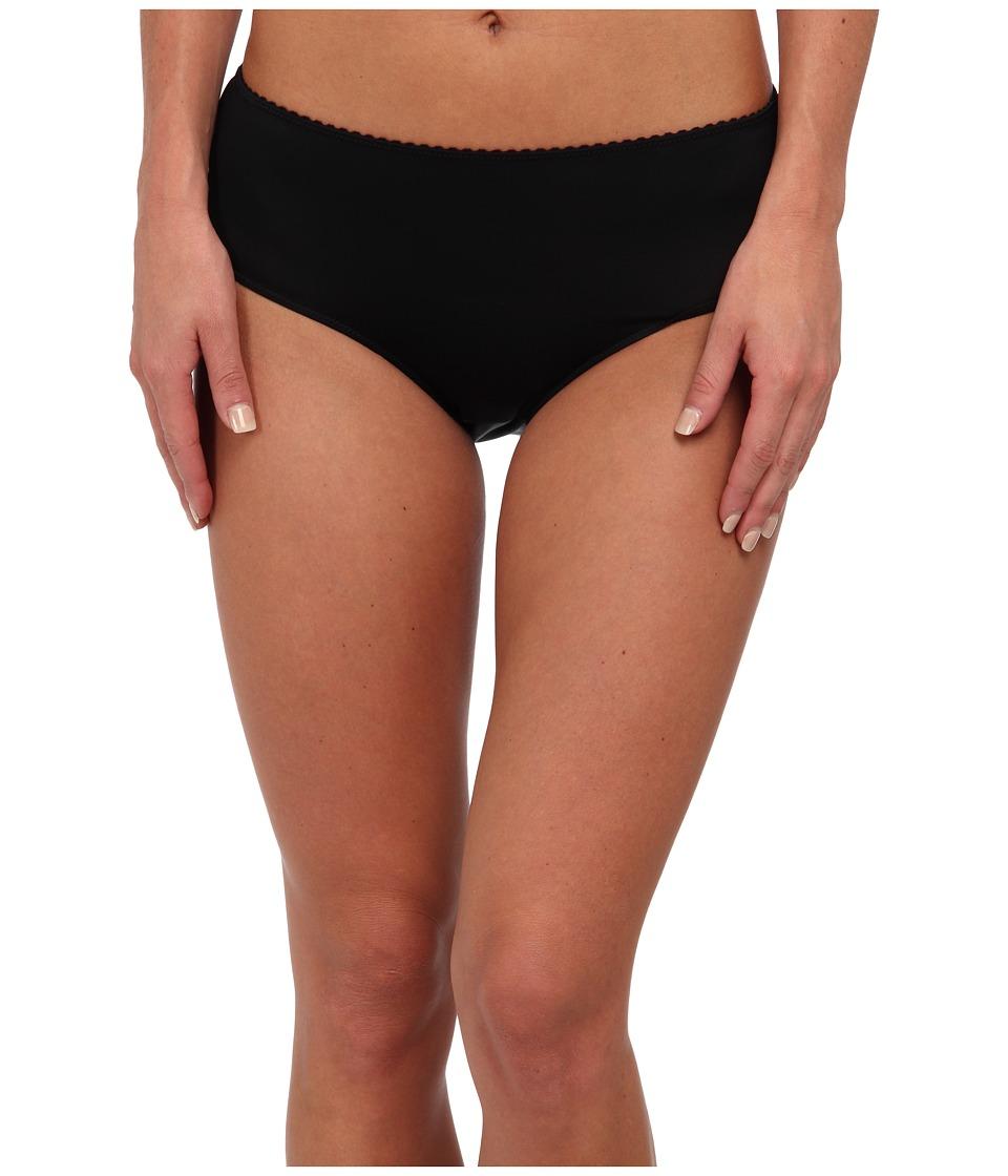 Hanro - Satin Deluxe Hipster (Black) Women's Underwear