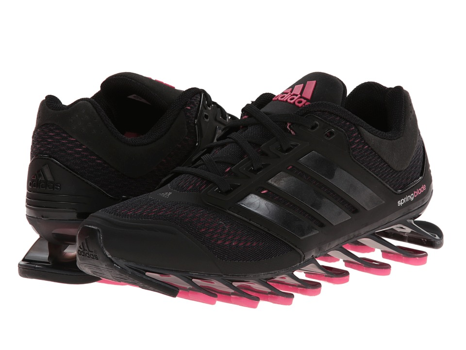 adidas Running - Springblade Drive (Black/Solar Pink/Black) Women's Running Shoes