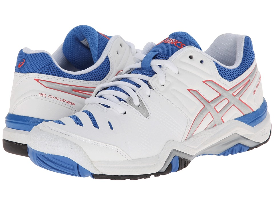 ASICS - GEL-Challenger 10 (White/Silver/Powder Blue) Women's Shoes