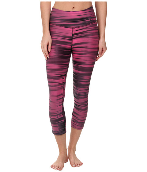 Nike - Legend 2.0 Swift Tight Capri (Hot Pink/Black/Black) Women's Capri