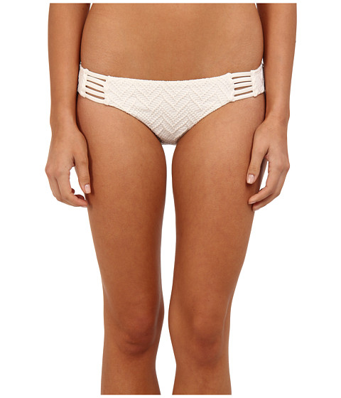 Volcom - Wild Night Modest Bottom (Cream) Women