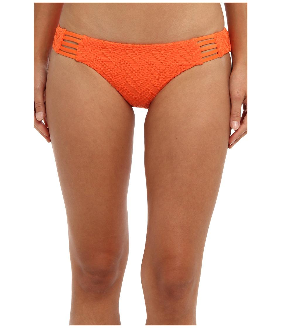 Volcom - Wild Night Modest Bottom (Orange) Women's Swimwear