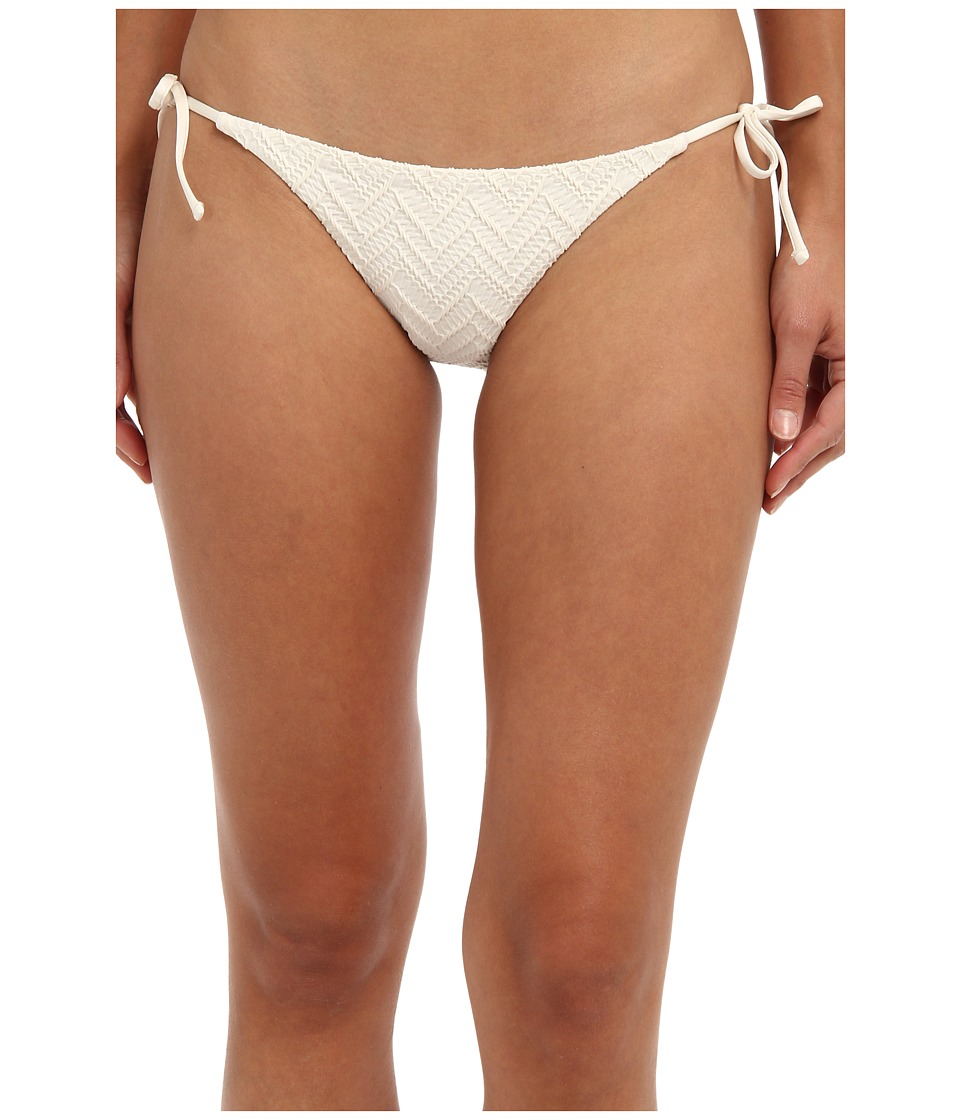 Volcom - Wild Night Tie Side Full Bottom (Cream) Women's Swimwear