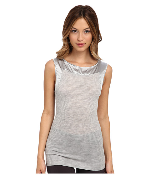 Hanro - West Village Tank Top (Light Melange) Women