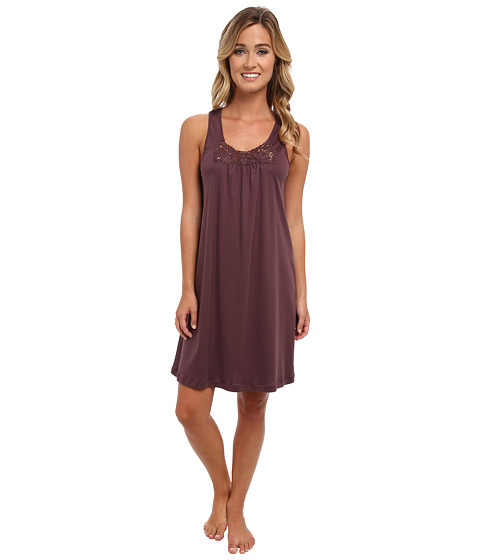 Hanro - Queens Tank Gown (Peppercorn) Women