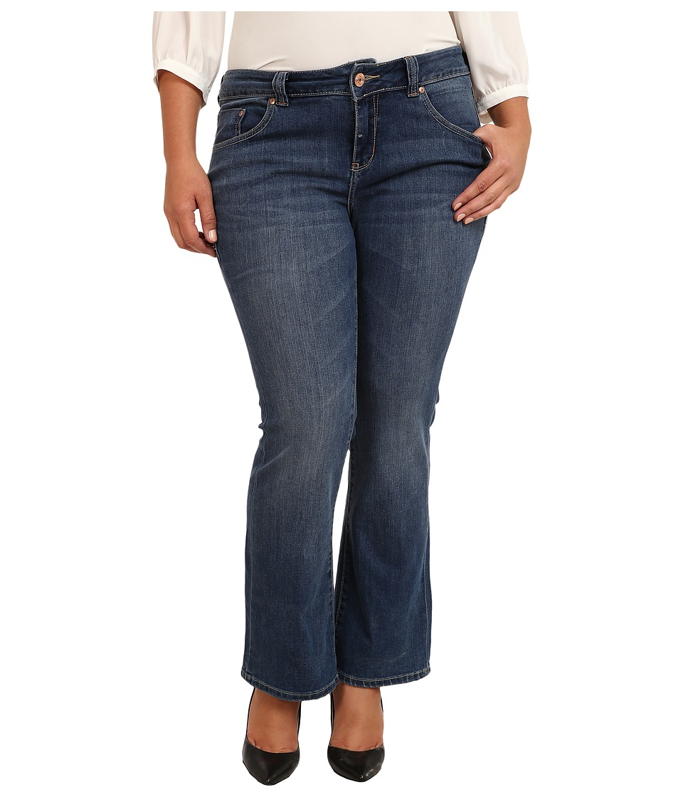 Jag Jeans Plus Size - Plus Size Petite Foster Boot in Indigo Aged (Indigo Aged) Women's Jeans