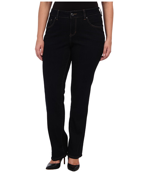 Jag Jeans Plus Size - Plus Size Sydney High Straight in Double Trouble (Double Trouble) Women's Jeans