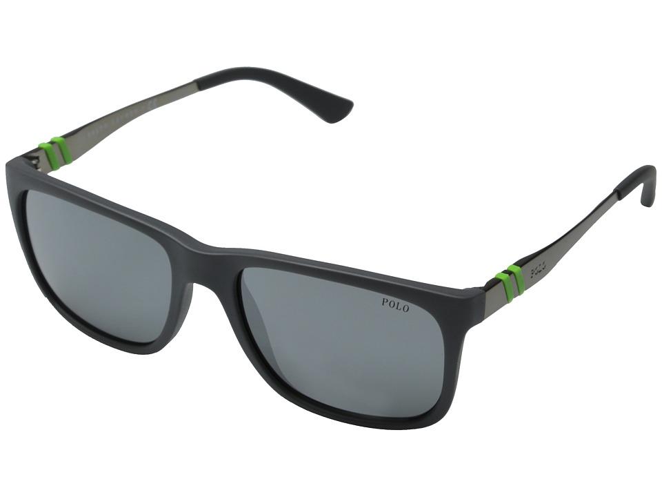 Polo Ralph Lauren - 0PH4088 (Matte Grey) Fashion Sunglasses